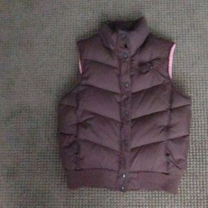 Brown Gap vest
